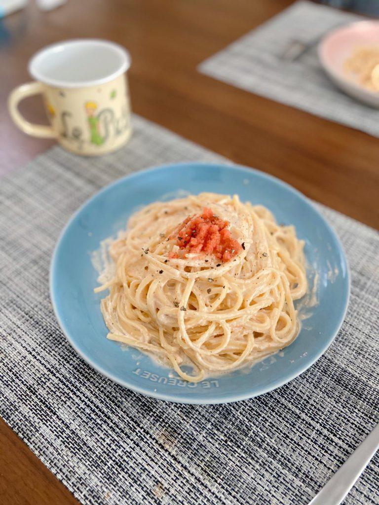 明太子忌廉意粉 Creamy Mentaiko Pasta