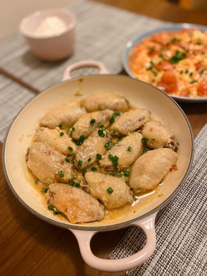 無水蒸腐乳雞翼 Waterless Steamed Chicken Wings with Fermented Bean Curd