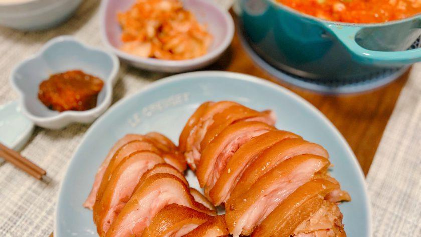 韓式豬手 Korean Pork Trotters 족발