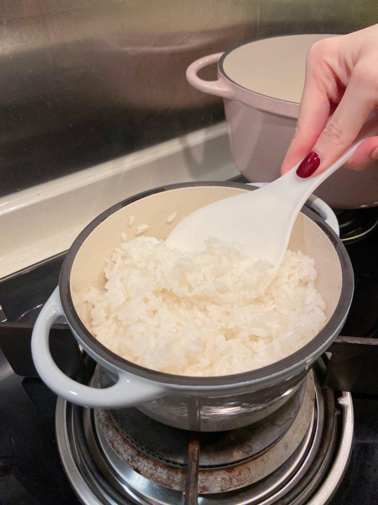 鑄鐵鍋炊飯