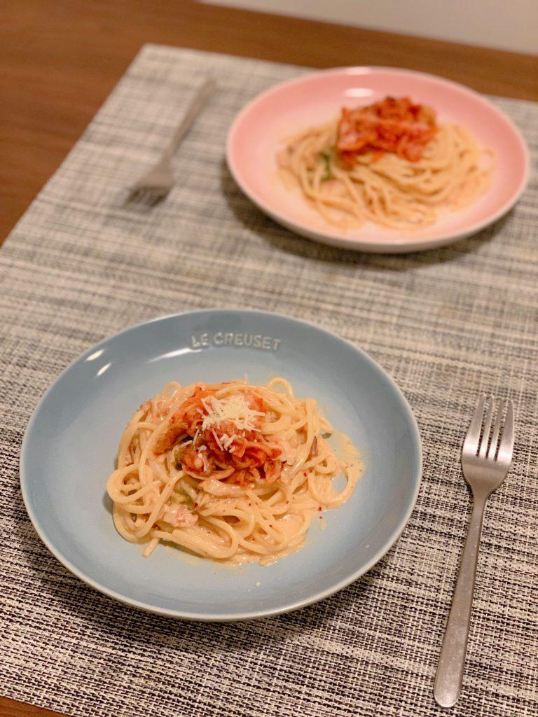 泡菜卡邦尼意粉 Kimchi Carbonara