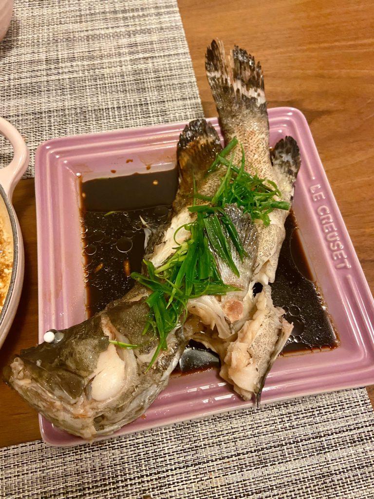 油鹽水浸沙巴躉 Poached Grouper in Salt Water