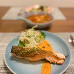 脆皮煎三文魚 Crispy Pan Seared Salmon