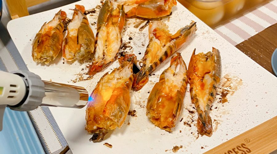 鹽燒大頭蝦 Salt Grilled Prawn