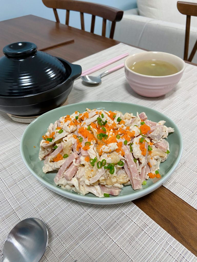 Wasabi蟹籽手撕雞